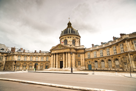 popular science: Paris, Institut de France historic building  French Academy of Sciences