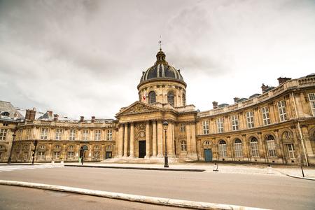 academie: Paris, Institut de France historic building  French Academy of Sciences