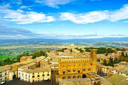 terni: Orvieto medieval town panoramic aerial view  Umbria, Italy, Europe  Stock Photo