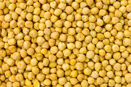 chickpea: Chickpea seeds background or texture raw legume food Stock Photo
