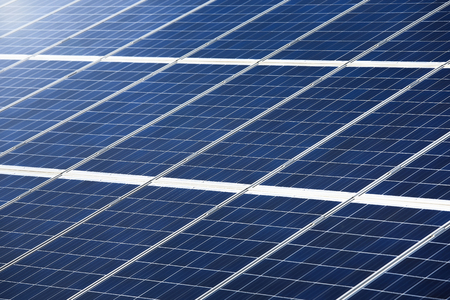 pv: Photovoltaic panel or pv for power generation texture or pattern