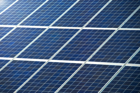 photovoltaic panel: Photovoltaic panel or pv for solar power generation texture or pattern
