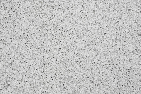 Kwartsoppervlakte voor badkamer of keuken witte aanrecht. Hoge resolutie textuur en patroon.