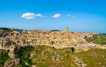 Matera ancient town i Sassi, Basilicata, Italy, Europe