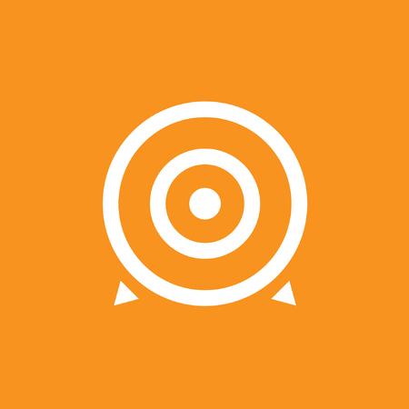 Target, Aim, Accuracy, Success icon,  stock vector, eps10.