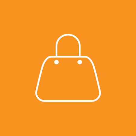 Bag icon, stock vector, eps10.
