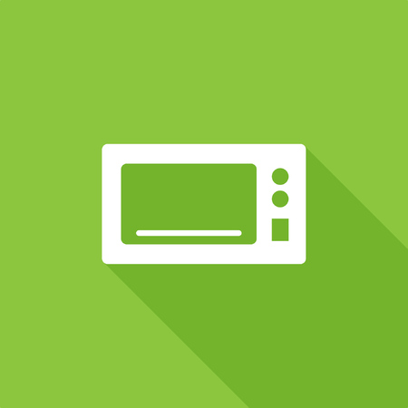 Microwave icon, stock vector