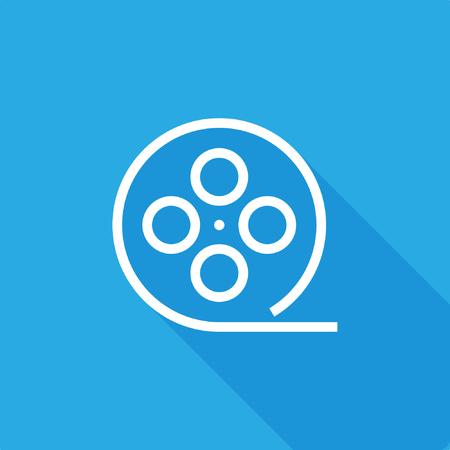Filmstrip icon, stock vector, eps10.