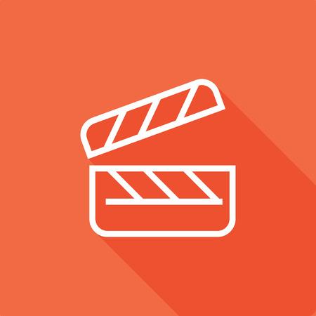 Clipboard icon, stock vector, eps10.