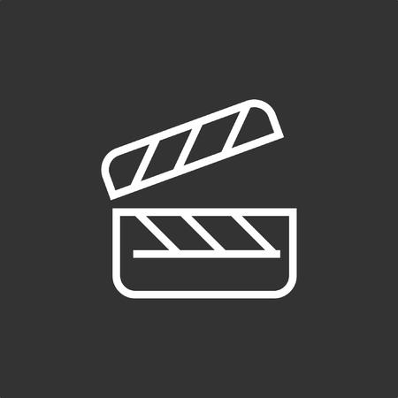 Clipboard icon, stock vector