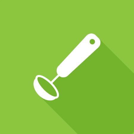 Soup Ladle icon vector illustration