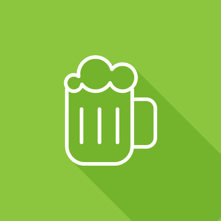 Beer icon, stock vector, eps10. Illustration