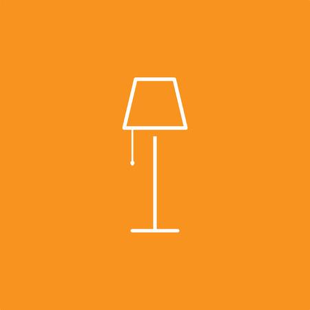 Icône de lampe, illustration vectorielle Banque d'images - 98469853