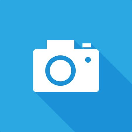 Camera Icon, stock vector illustration, EPS10.