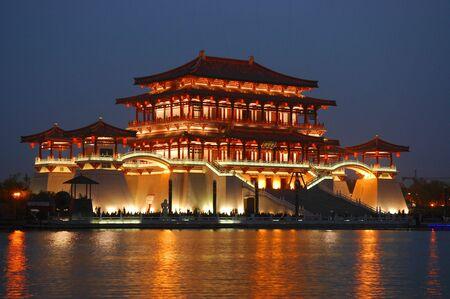 tang: Modern Tang building, Xian