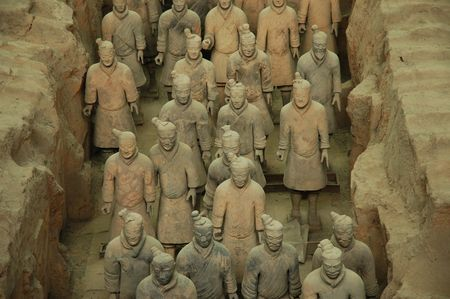 Terracotta Warriors, detail