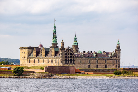 prince of denmark: Kronborg castle from the seaside Editorial