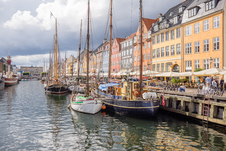coulorful: Colourful Copenhagen Canal Editorial