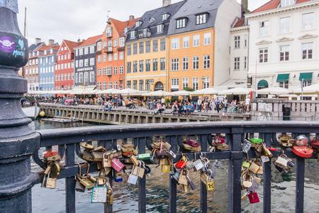 lockers: Love lockers Nyhavn Copenhagen