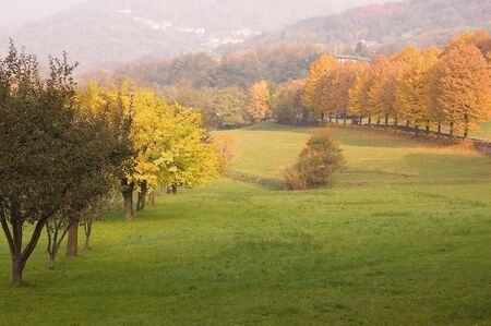 autumnal landscape Stock Photo - 5901559