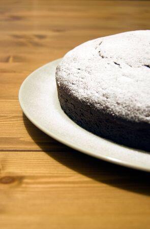 homemade chocolate cake Stock Photo - 5950021