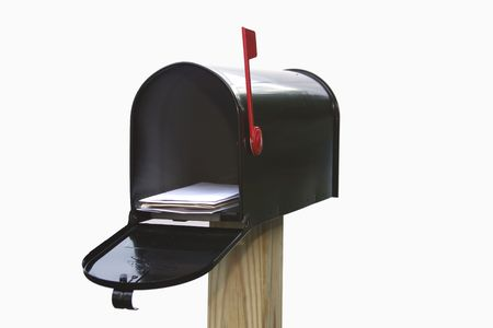 letter box: Youve got mail! Stock Photo