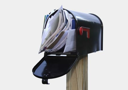 you've got mail: Youve Got Too Much Mail - Isolated