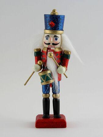 christmas costume: Nutcracker Soldier Stock Photo