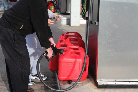 shortage: Getting gas after Hurricane Sandy in New Jersey