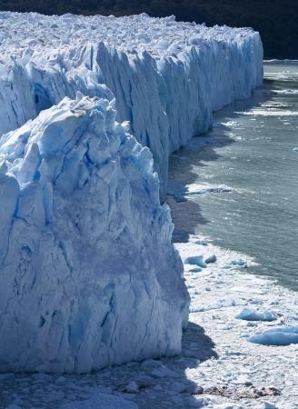los glaciares: Ghiacciaio Perito Moreno nel Parco Nazionale Los Glaciares nel sud-ovest della provincia di Santa Cruz nelle Ande della Patagonia in Argentina meridionale Archivio Fotografico