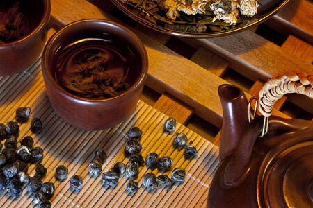pearl tea: Chinese Jasmine Pearl Tea