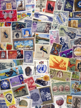 philately: Collection of Postage Stamps of the World - Philately