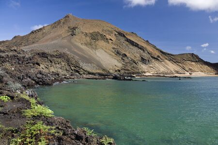 bartolome: Volcano on the island of Bartolome in the Galapagos Islands- Ecuador