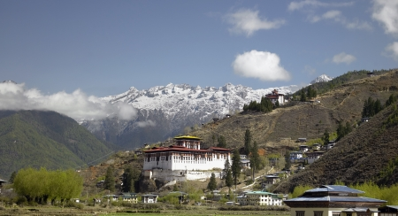 Paro Dzong Buddhist Monastery in the Kingdom of Bhutan