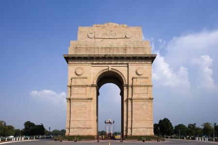India Gate Memorial in Delhi in India