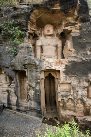 human being: 7th century Jain sculptures depicting the Tirthankaras near Gwalior Fort in the of town of Gwalior in the Madaya Pradesh region of India  In Jainism, a Tīrthaṅkara is a human being who achieves moksa  enlightenment
