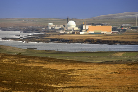 establishments: Dounreay is the site of several nuclear research establishments located on the north coast of Caithness, in the Highland area of Scotland