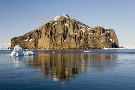 antarctic peninsula: The Lamaire Channel on the Antarctic Peninsula in Antarctica  Stock Photo