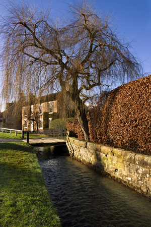 north yorkshire: Village of Hovingham in North Yorkshire in Great Britain Stock Photo