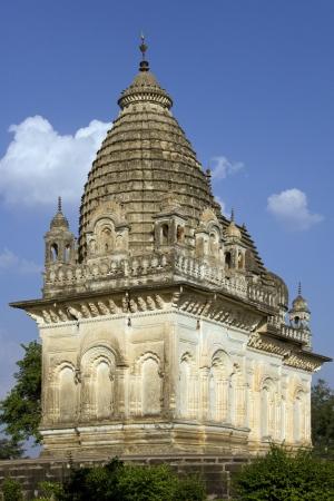 mahadev: One of the Khajuraho Temples in Khajuraho in the Madhya Pradesh region of central India