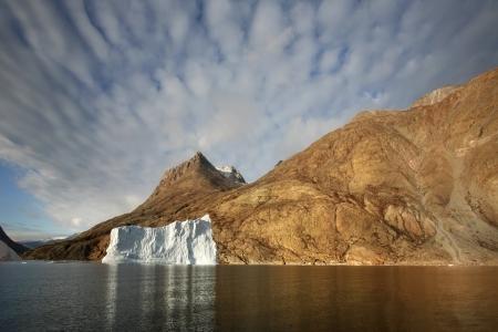franz: Blomsterbugten or Flower Bay in Franz Joseph Fjord in Eastern Greenland