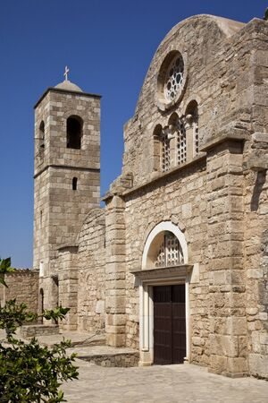 barnabas: St Barnabas Monastery,  Apostolos Varnavas Monastery,  in Turkish Cyprus  Present buildings date from 1756  built on the original Byzantine foundations of 477AD   Built near the tomb of the Apostle Barnabas  killed in 57AD