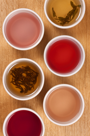 chinese tea: Selection of Chinese Herbal Teas