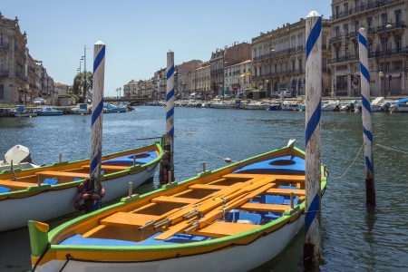 The Canal Royal in the coastal town of Sete