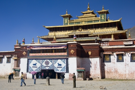 Sera Monastery in the Tibet Autonomous region of China.
