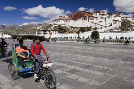 fled: Potala Palace in the city of Lhasa in Tibet (Tibet Autonomous Region of China). The Potala Palace was the chief residence of the Dalai Lama until the 14th Dalai Lama fled to Dharamsala, India, after an invasion and failed uprising in 1959.