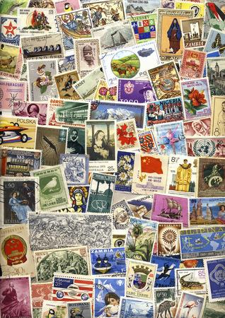 International Postage Stamps