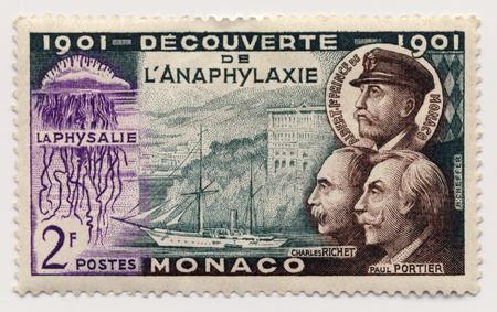 postes: Postage stamp from Monaco