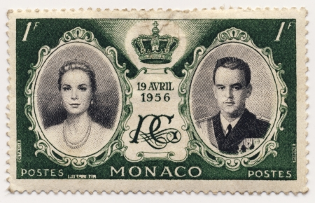 postes: Postage stamp from Monaco