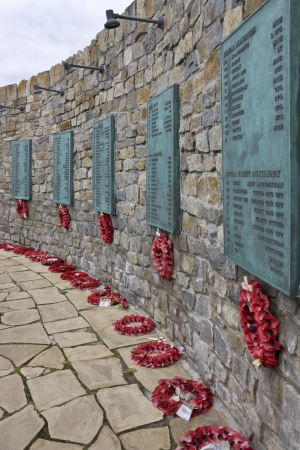 falklands war: The Falklands War Memorial in Port Stanley in The Falkland Islands (Islas Malvinas).